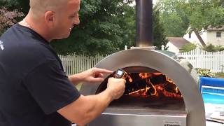 Wood Fired Pizza Oven- Getting Your  Oven Ready For Cooking By ilFornino New York.
