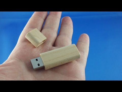 ✅ 2$ Wood Usb Stick Flash Drive Disc from AliExpress Unboxing haul euro app