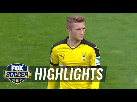 Borussia Dortmund vs. FC Augsburg | 2015–16 Bundesliga Highlights