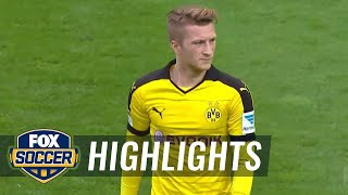 Borussia Dortmund vs. FC Augsburg | 2015–16 Bundesliga Highlights