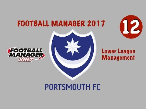 FOOTBALL MANAGER 2017 | Carrière Portsmouth | #12 - Live Mercato + Débuts Championship !
