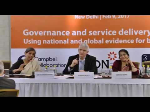Evidence on governance for service delivery: Reviewing the scope and use of recent studies on India