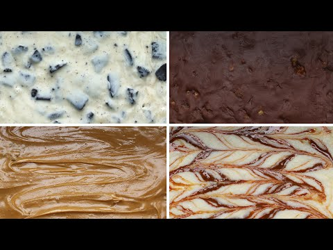 Download Youtube: 3-Ingredient Fudge 4 Ways