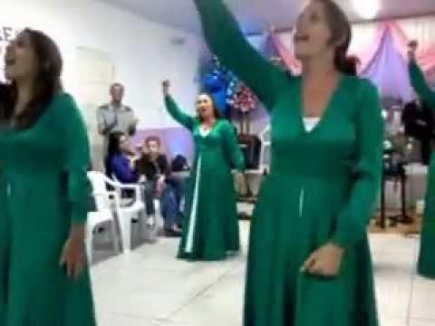 Coreografia Mulheres de Fé****Grupo de Gestos Shalom
