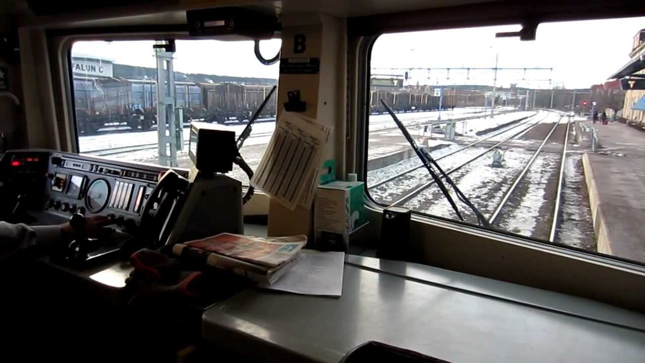 Train Driving Cab View Youtube