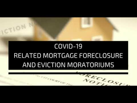 Foreclosure and Eviction Moratorium Until February 28th