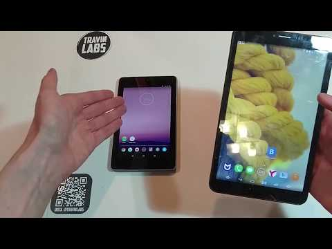 Nexus 7 2012 на Android 7.1.2 . Сравнительный тест. TRAVINLABS.