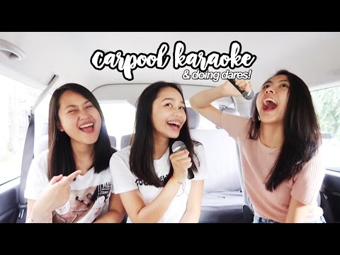 Carpool Karaoke + Doing Dares 2017! | ThatsBella: Hey, Thats right it's Bella! I'm back at it again with another collab! In this video, we did the carpool karaoke and some dares! I hope you guys enjoyed this video.  ► Subscribe T H A T S B E L L A https://www.youtube.com/channel/UC0hP6i3jTz4I8x_oPfgnQow  L E X Y  R O D R I G U E Z https://youtu.be/a752kiJMwhg  K A T I E  T R A C Y   https://youtu.be/55N6YoxlMl4    F A C E B O O K  https://www.facebook.com/thatsbellayt/  I N S T A G R A M  https://instagram.com/thatsbellayt/  T W I T T E R https://twitter.com/thatsbellayt/  S N A P C H A T thatsbellayt  A S K . F M thatsbellayt  F A C T S  A B O U T  M E N A M E: Arabella N A T I O N A L I T Y: Filipino  C A M E R A: Canon Powershot G7X 2 E D I T I N G  S O F T W A R E: Final Cut Pro X  B U S I N E S S / S P O N S O R S:  bellefrances09@gmail.com  D I S C L A I M E R: This is not a sponsored video!
