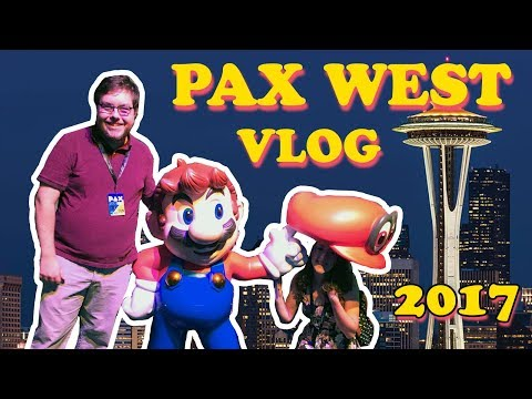 seattle & pax west 2017 vlog!