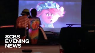 Drive-in movie theaters making a comeback amid coronavirus pandemic