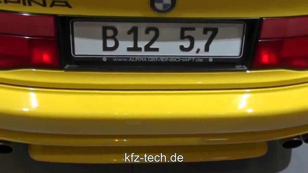 BMW Alpina B Coupe E Series Quick Look YouTube - Bmw 850 alpina for sale