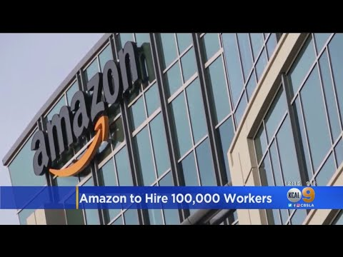 Amazon Hiring 100,000 Workers For Warehouse, Delivery Positions