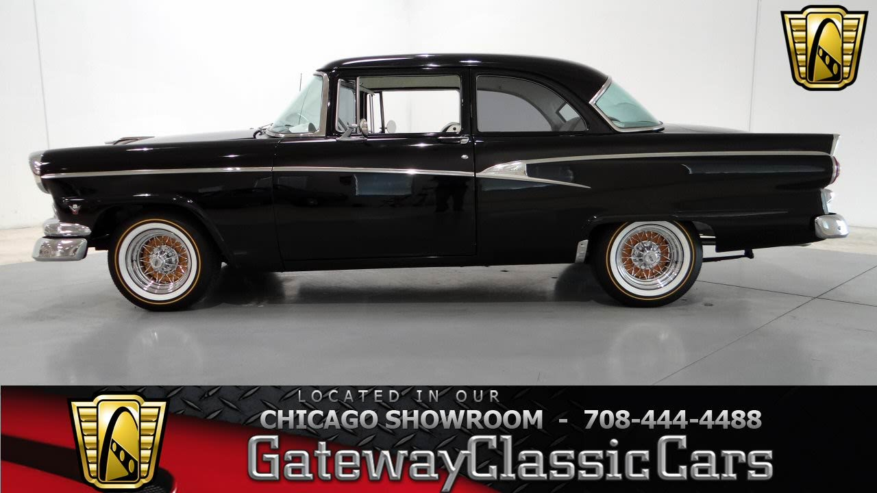 1956 ford customline gateway classic cars chicago 779 for 1956 ford customline 2 door hardtop
