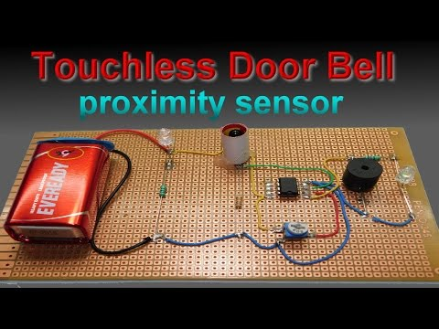 Make IR Proximity Sensor, Door Bell at home