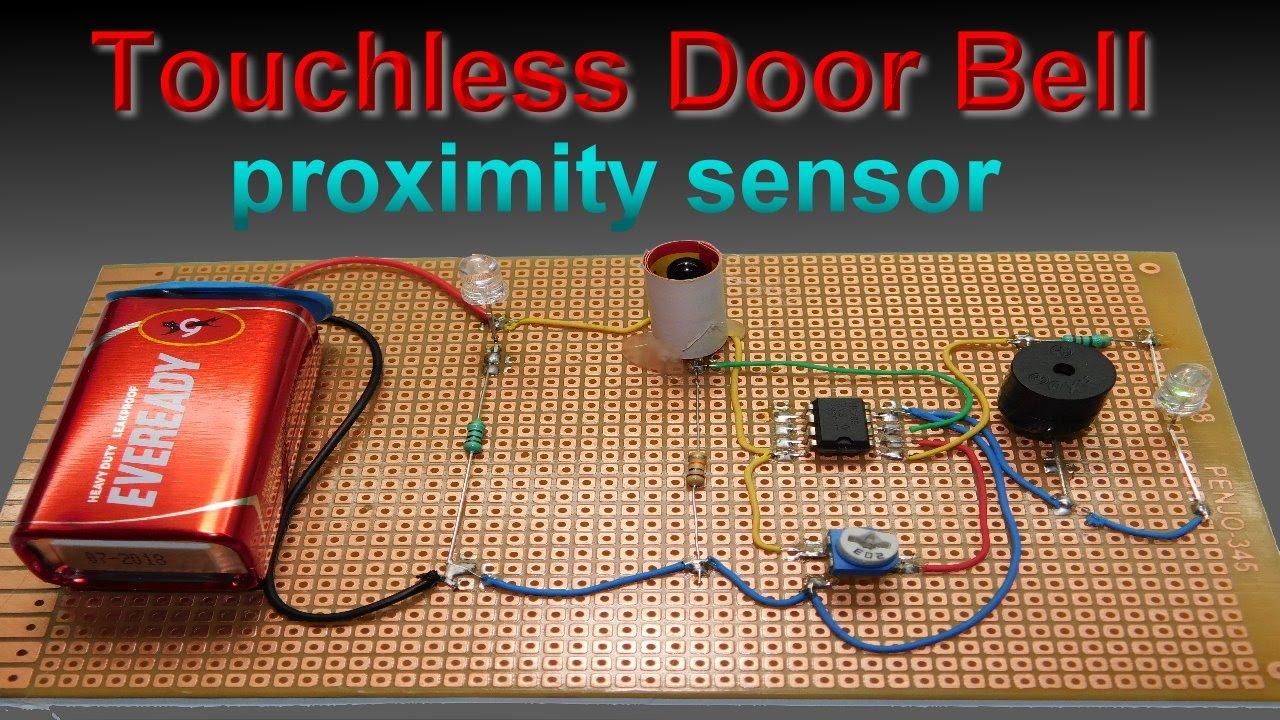 Make Ir Proximity Sensor Door Bell At Home Youtube How To Build An Infrared Distance Circuit