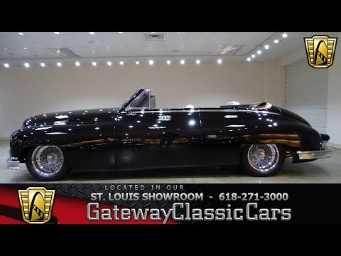 1949 Packard Convertible Stock #7314 Gateway Classic Cars St. Louis Showroom