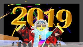 HAPPY NEW YEAR 2019 ON ROBLOX!