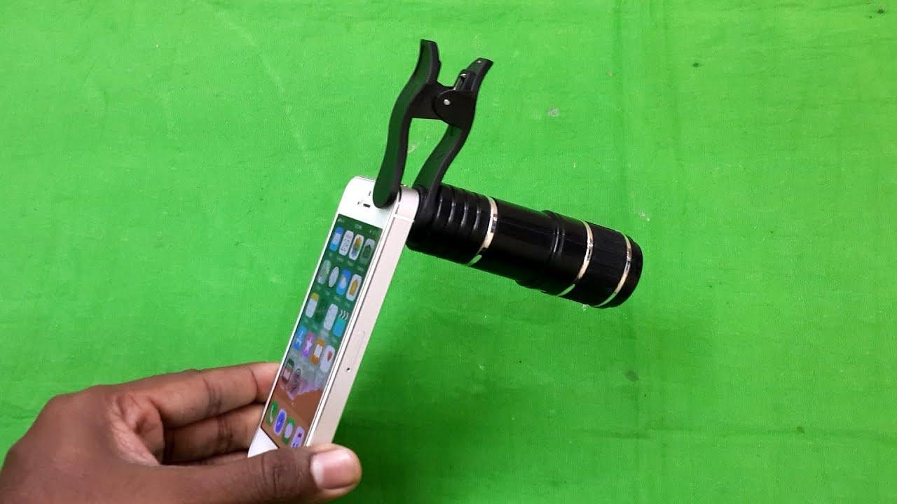 12x universal telescope lens for mobile phone testing youtube