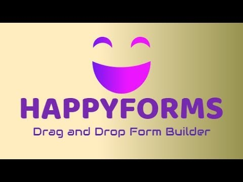 HappyForms  - Amazing Free Form Builder [Drag and Drop!]
