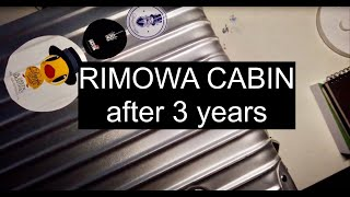 RIMOWA CABIN LUGGAGE - After 3 Years
