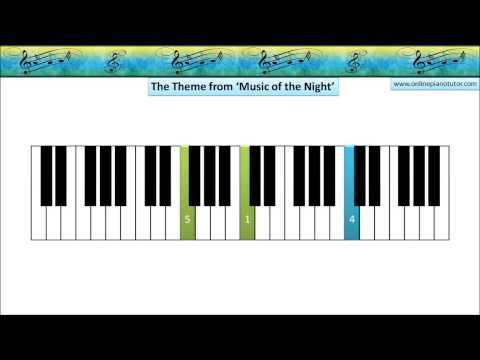 How to play theme Music from the Night