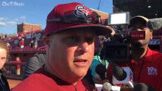 Chad Holbrook recaps series with UNCG