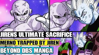 Beyond Dragon Ball Super: Jirens Ultimate Sacrifice Against Merno! Merno Trapped By Jiren And Toppo!