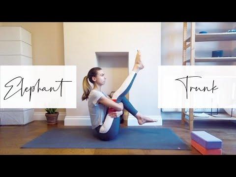 Slow yoga sequence to Eka Hasta Bhujasana (Elephant Trunk Pose)