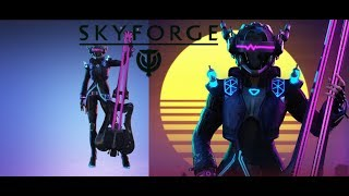skyforge: новый класс Акустик( умения и таланты)