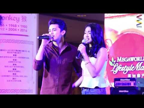 Chinese New Year with JaDine Blowout! [LIVE!]: Pinakilig ng tambalang James at Nadine ang buong Lucky Chinatown sa kanilang duet together!