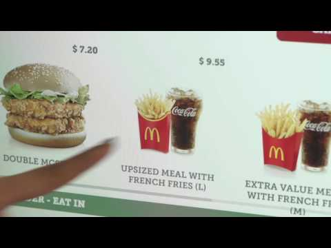 A New Way to Order using McDonald's® Self-Ordering Kiosk - YouTube