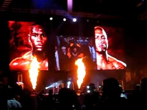 Miguel Cotto & Floyd Mayweather Press Conference in Puerto Rico