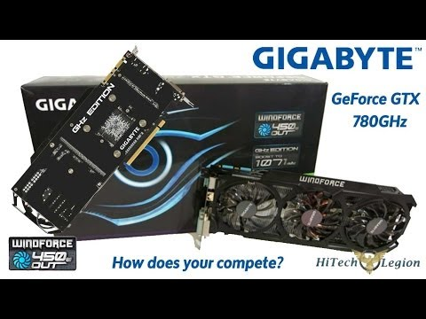 Gigabyte Geforce GTX 780 GHz Edition Video Card Overview and Benchmarks