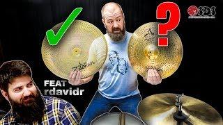 Making a Low Volume Cymbal?!   Stephen Taylor + rdavidr Collab