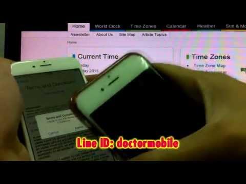 เปลี่ยน ไอดี iD iCloud รหัสผ่าน เจ้าของ apple id  REMOVE iCloud iphone6 Find my iPhone 6 Plus