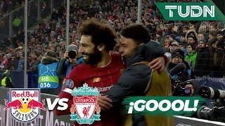 Salah anot el segundo  Salzburgo 0 - 2 Liverpool  Champions League - J6 - Grupo E  TUDN