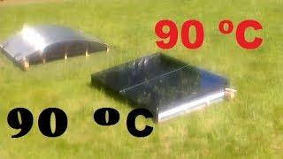 видео солнечные коллекторы