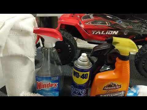 CLEANING TIPS...STUFF I USE ON MY RC CARS AND TRUCKS TO LOOK NEW AGAIN!!!