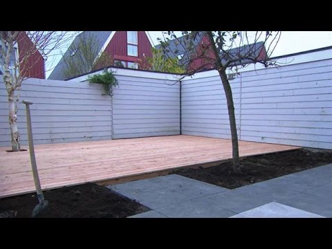Vlonder In Tuin : Vlonder leggen eigen huis & tuin youtube