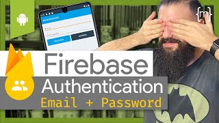 FIREBASE Authentication Android LOGIN SCREEN Android Studio (con Email y Contraseña) [2020]