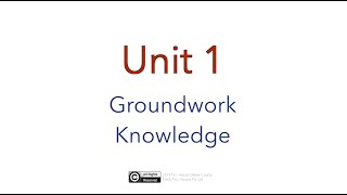 Free Preview Of Online Course 'how To Build A Tiny House': Unit 1 - Groundwork Knowledge