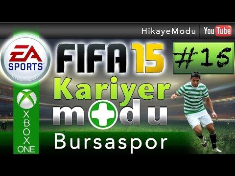 Fifa 15 Kariyer Modu - Bursaspor #15 Seni yeneceğim Istanbul !!