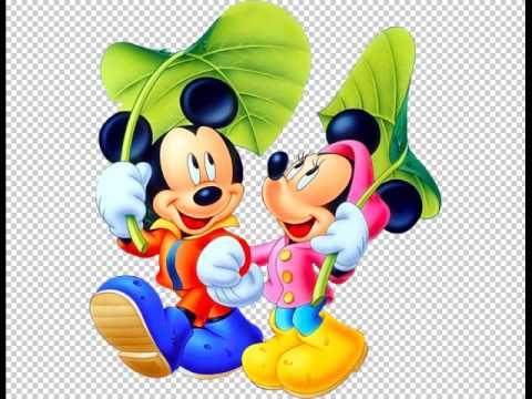 Pacote Com 18 Imagens Em Png Do Mickey E Amigos Em Alta Definicao