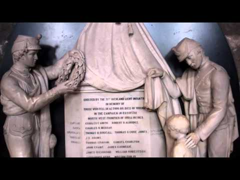 71st Highland Light Infantry Memorial Cathedral Glasgow Scotland