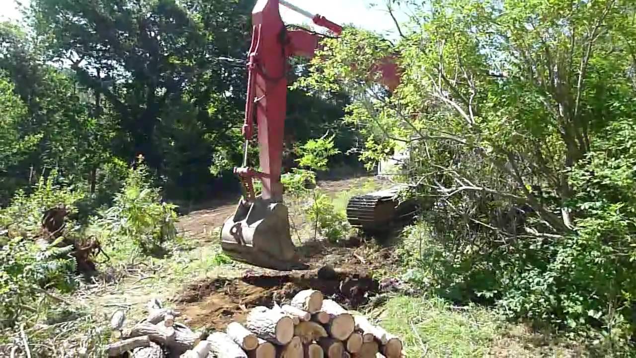 Uprooting stumps 24