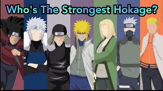 Ranking The 7 Hokage Of The Leaf Weakest to Strongest