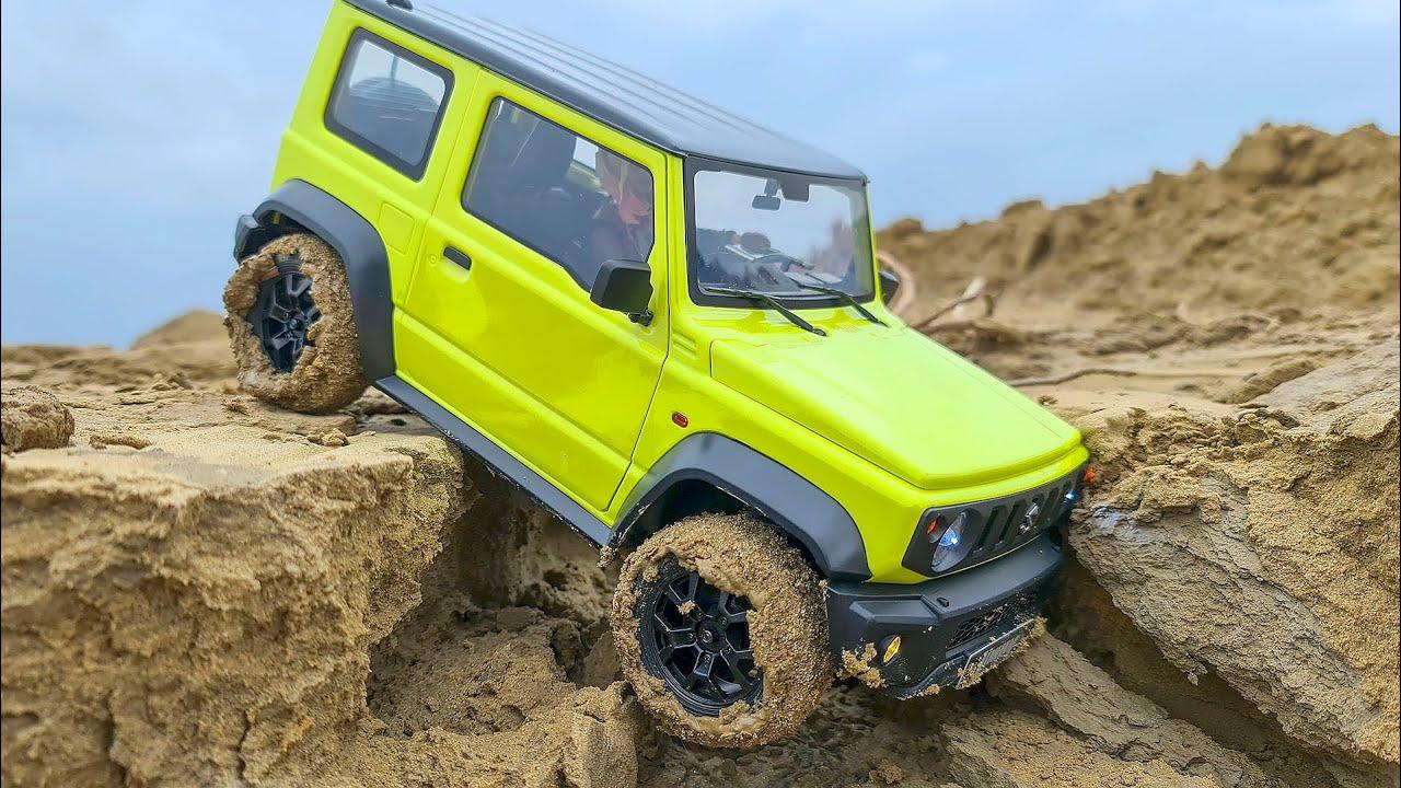 Suzuki Jimny 4x4 Review and Test Drive – RC Car MUD OFF Road