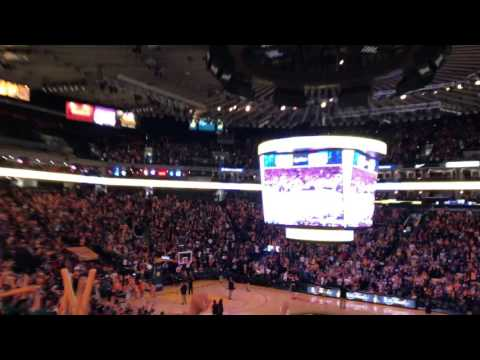 Oracle Arena Erupted after KD's 3 point shot
