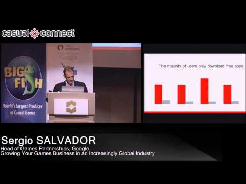 Growing Your Games Business in an Increasingly Global Industry | Sergio SALVADOR