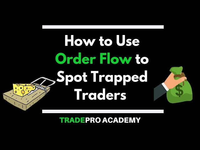 How To Use Order Flow To Spot Trapped Traders Youtube